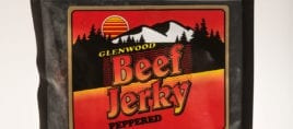 3oz beef jerky peppered